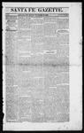 Santa Fe Gazette, 11-28-1863