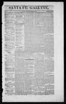 Santa Fe Gazette, 12-05-1863