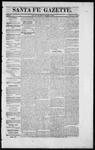 Santa Fe Gazette, 12-12-1863