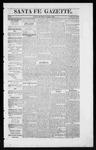 Santa Fe Gazette, 12-19-1863