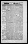Santa Fe Gazette, 12-26-1863
