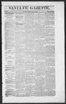 Santa Fe Gazette, 01-23-1864
