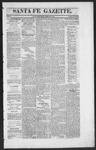 Santa Fe Gazette, 02-06-1864