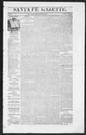 Santa Fe Gazette, 09-03-1864