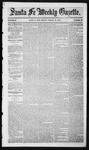 Santa Fe Weekly Gazette, 03-12-1853
