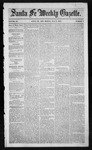 Santa Fe Weekly Gazette, 07-09-1853