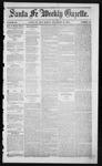 Santa Fe Weekly Gazette, 12-10-1853