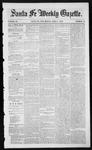 Santa Fe Weekly Gazette, 04-01-1854