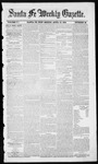 Santa Fe Weekly Gazette, 04-19-1856