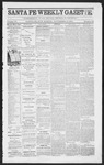 Santa Fe Weekly Gazette, 11-12-1864