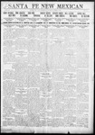 Santa Fe New Mexican, 08-07-1911
