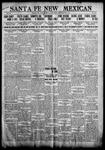 Santa Fe New Mexican, 09-09-1911
