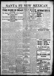 Santa Fe New Mexican, 07-20-1903