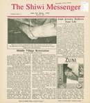 The Shiwi Messenger, Vol. 02, No. 13 (1996) by Andrew Othole, Ed Crocker, Wells Mahkee Jr., Phil Hughte, Darin Mahkee, Kathy Prouty, and Amanda Delena