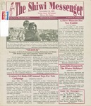 The Shiwi Messenger, Vol. 05, No. 23 (1999) by Wells Mahkee Jr., ZHS Drama Department, Zuni Police Department, CenturyTel, Beth Coates, New Mexico Donor Program, Dave Fontaine, New Rivers Press, Quail Ridge Press, Marcus Servoss, Twin Buttes High School Student, Yvonne Koomsa, Kirk Bemis, Wilfred Eriach Sr., Edward Wemytewa, and A:shiwi A:wan Museum and Heritage Center