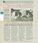 The Shiwi Messenger, Vol. 07, No. 23 (2001) by Syverson Homer, George Kanesta, Robert Currier, Zuni Diabetes Prevention Program, Dave Fontaine, and Zuni High School