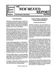 NM Report - Spring 2003 by Phillip B. Gonzales