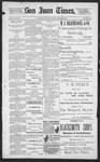 The San Juan Times, 09-06-1895 by Fred E. Holt