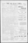 The San Juan Times, 07-08-1898 by Fred E. Holt