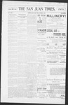 The San Juan Times, 09-09-1898 by Fred E. Holt