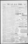 The San Juan Times, 10-28-1898 by Fred E. Holt