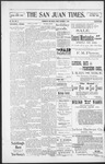The San Juan Times, 12-02-1898 by Fred E. Holt