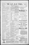 The San Juan Times, 01-06-1899 by Fred E. Holt