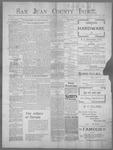 San Juan County Index, 01-20-1899