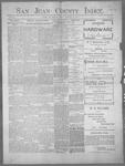 San Juan County Index, 01-27-1899