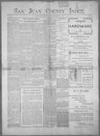 San Juan County Index, 02-03-1899