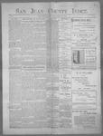 San Juan County Index, 03-10-1899