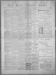 San Juan County Index, 03-24-1899