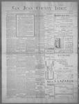 San Juan County Index, 04-21-1899