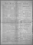 San Juan County Index, 06-16-1899