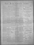 San Juan County Index, 07-21-1899