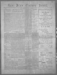 San Juan County Index, 08-11-1899