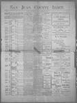 San Juan County Index, 08-25-1899