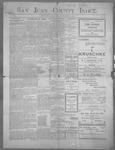 San Juan County Index, 12-08-1899