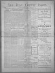 San Juan County Index, 12-22-1899