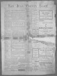 San Juan County Index, 01-05-1900