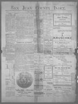 San Juan County Index, 01-12-1900