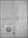 San Juan County Index, 01-26-1900