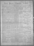 San Juan County Index, 03-09-1900
