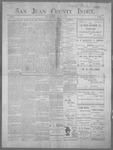 San Juan County Index, 05-11-1900