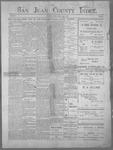 San Juan County Index, 06-08-1900
