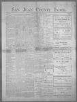San Juan County Index, 06-15-1900