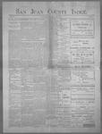San Juan County Index, 06-22-1900