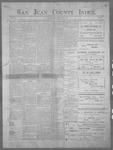 San Juan County Index, 07-06-1900