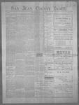 San Juan County Index, 07-20-1900