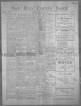 San Juan County Index, 07-27-1900